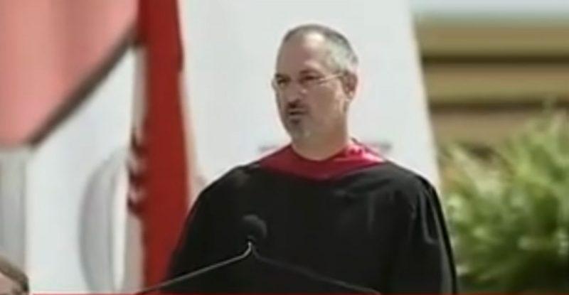 סטיב ג'ובס בנאום מעורר השראה